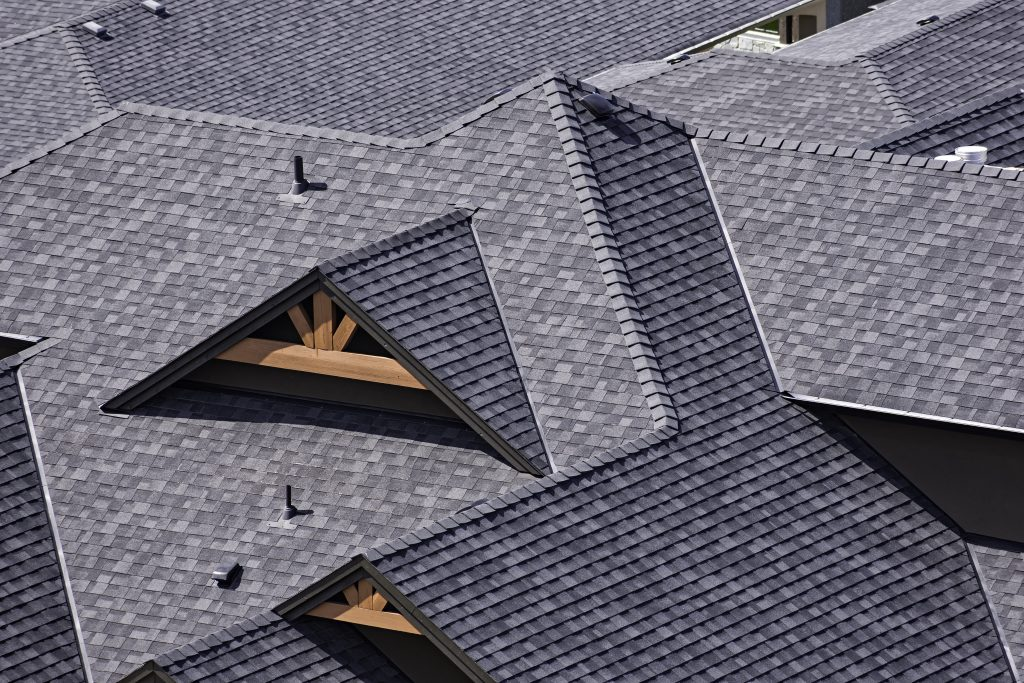 Laminated Shingles on home in Fort Worth.  40 Year shingles with impact resistant caps.